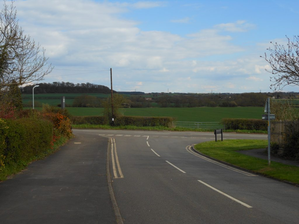 Views of Hoe Hill - one of the proposed sites for 600 new houses in Tollerton