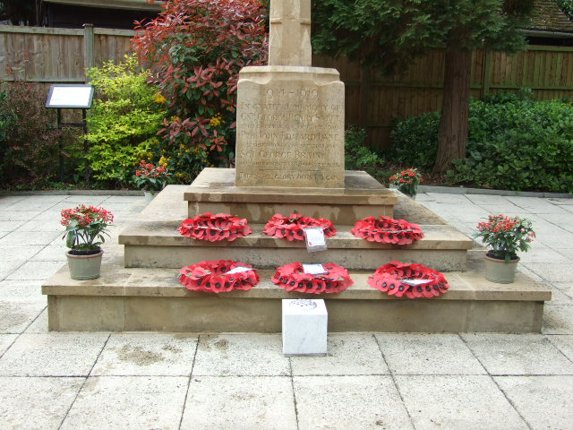 Remembrance in Tollerton