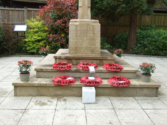 Spring clean for Tollerton War Memorial