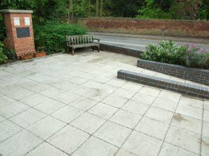 Tollerton War Memorial cleaned