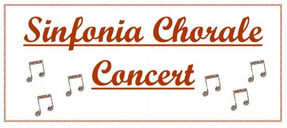 Sinfonia Chorale Concert